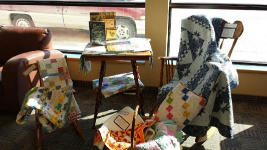 Quilt display Mar 2015 1