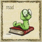 itty bitty book worm