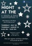 Night at the Library - Stonewall - Registration Required @ Stonewall Library | Stonewall | Manitoba | Canada