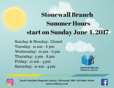 Stonewall Summer Hours 2017 (1)