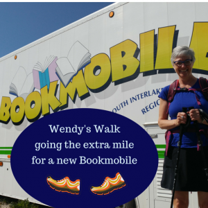 Wendy's Walkgoing the extra mile for a new Bookmoible