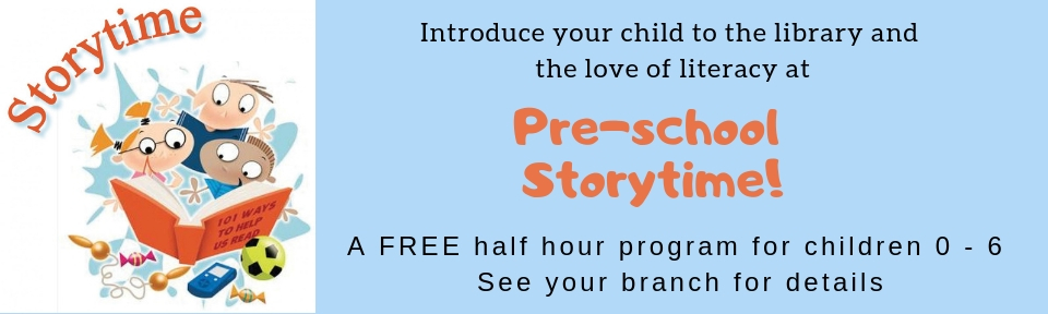 Introduce your child to the library and the love of literacy at
